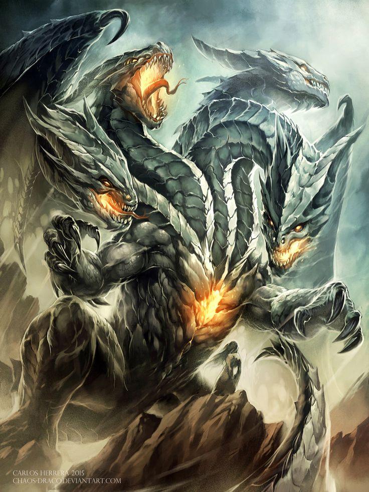 Balaur by Chaos-Draco.deviantart.com on @DeviantArt