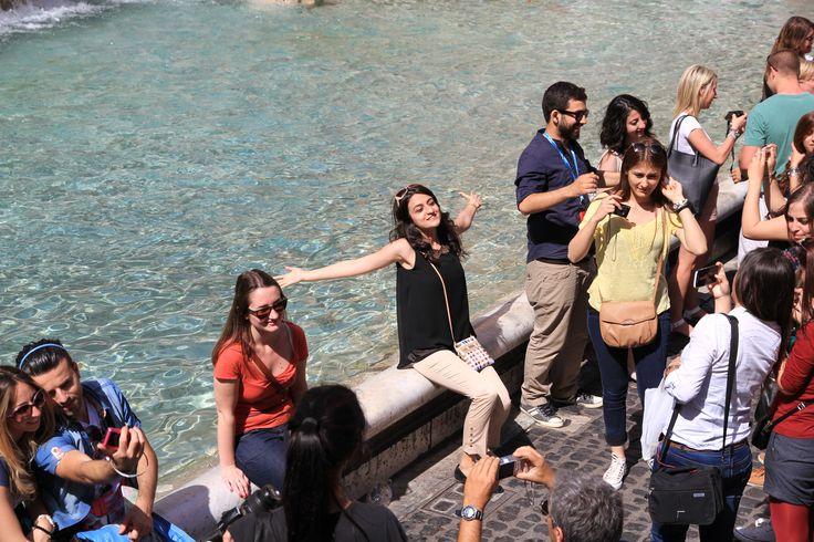 Roma - Aşk Çeşmesi / Rome - Trevi Fountain