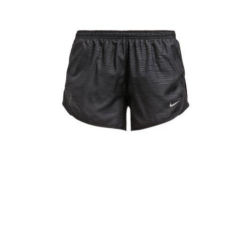 Nike Performance MODERN EMBOSSED TEMPO - Korte broeken - black/reflective silver - Zalando.be