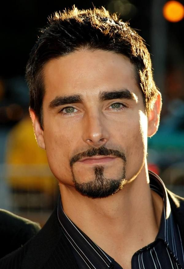 Kevin Richardson Backstreet Boys - Wearing facial hair the right way since the 90's :)