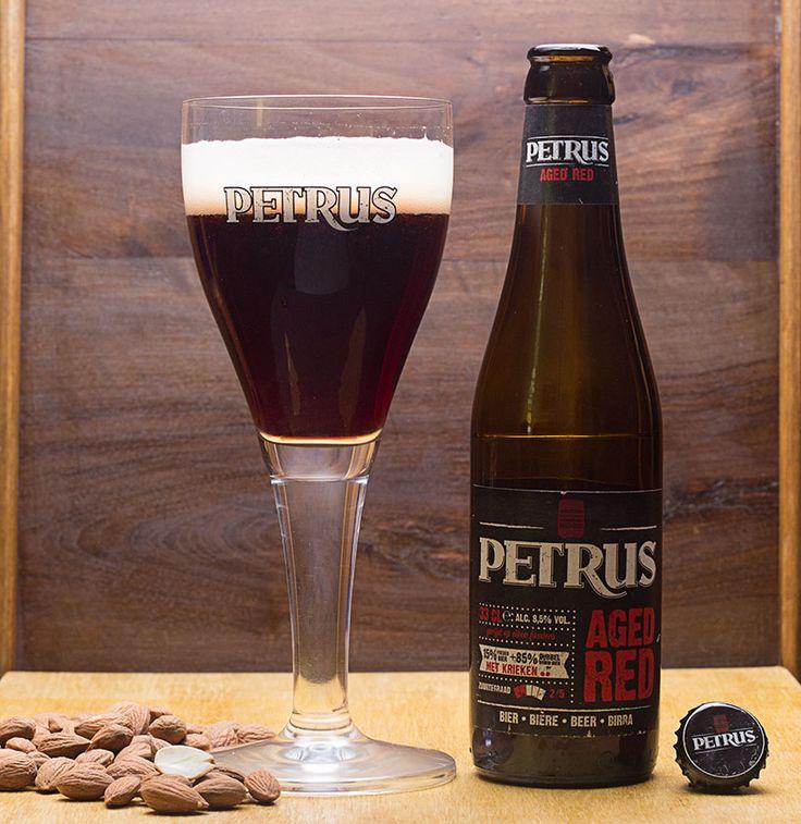 """Petrus Aged Red (Brouwerij De Brabandere - Belgique) assemblage de Petrus Dubbel Bruin et Petrus Aged Pale brassée avec des cerises fraîches - via """"Saveur-Biere.com"""""""