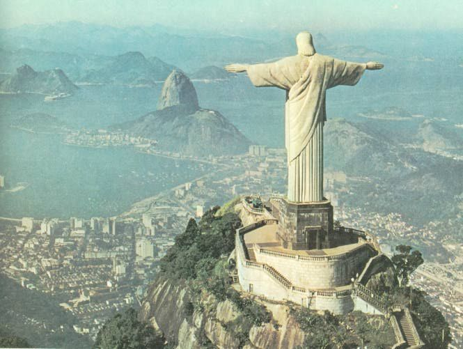 Christ the Redeemer in Rio - one of the 7 Wonders of the World