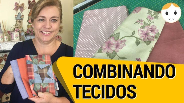 COMO COMBINAR TECIDOS E CORES: COSTURA E PATCHWORK | DIY | DRICA TV | SE...