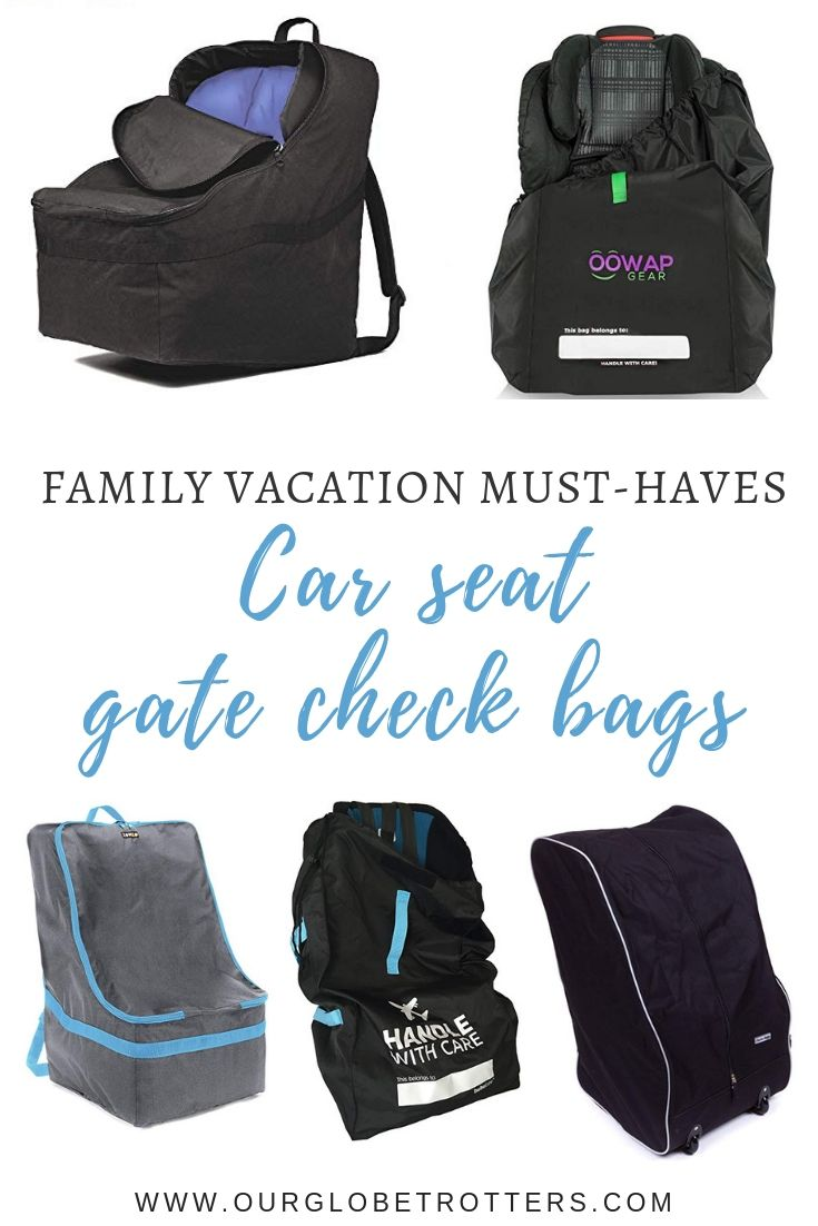 55c380755085 Best Car Seat Travel Bags in 2019 | Our Globetrotters - Family ...