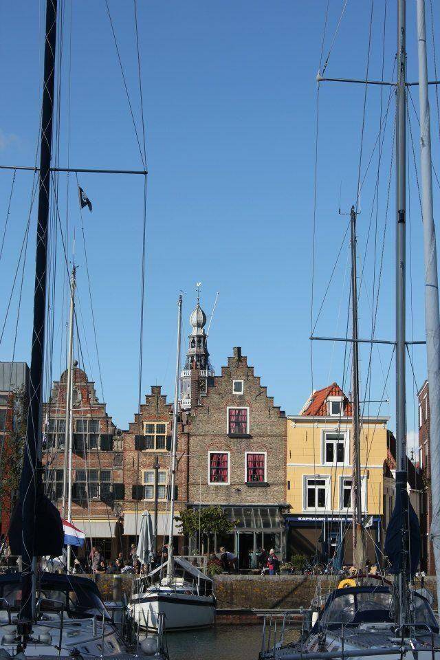 Nieuwe Dijk, Vlissingen. The Netherlands