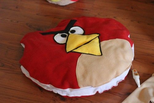diy angry birds costumes