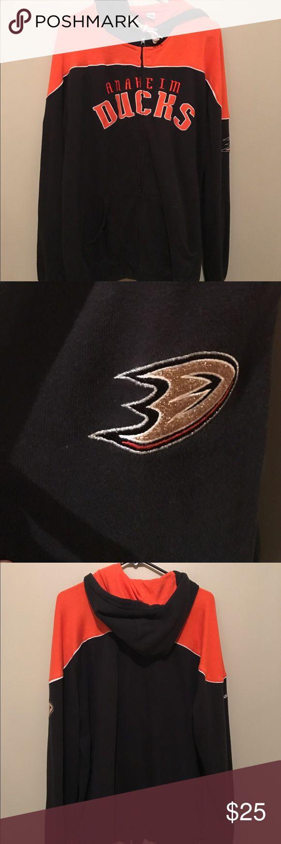 Anaheim Ducks Zip-up Jacket Very good condition Reebok Jackets & Coats