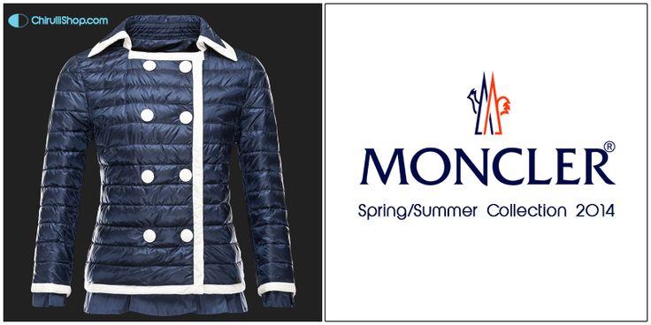 Moncler Donna piumino ultraleggero  Collezione Primavera Estate 2014  #spring #summer #collection #style #fashion #men #ss2014 #shopping #moda #woman #moncler  http://bit.ly/1kDfcfh
