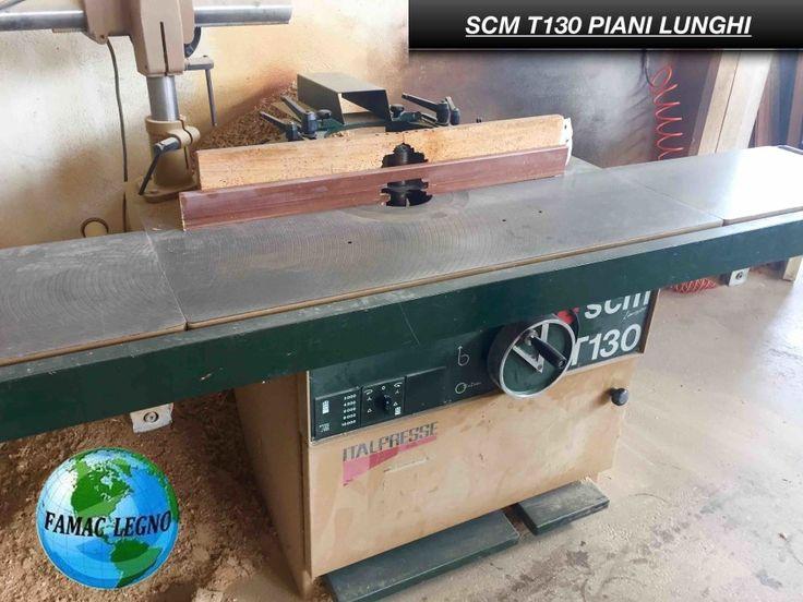 28- Toupie SCM T 130 piani lunghi con trascinatore