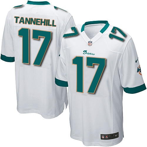 ryan tannehill jersey youth nike miami dolphins 17 game white jersey size s