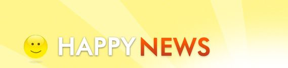 A whole site dedicated to HAPPY NEWS - in a world full of unhappy news this is very uplifting!