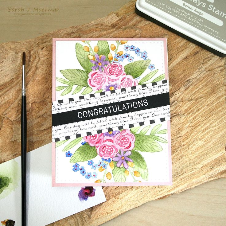 Hi everyone!    My  Simon Says Stamp June 2017 Card Kit  arrived in the mail yesterday and I got to spend the better part of the afternoon r...