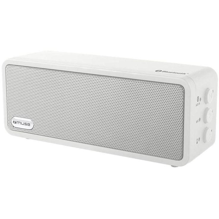 Bluetooth® -højttalere Muse M-350 BTW Hvid