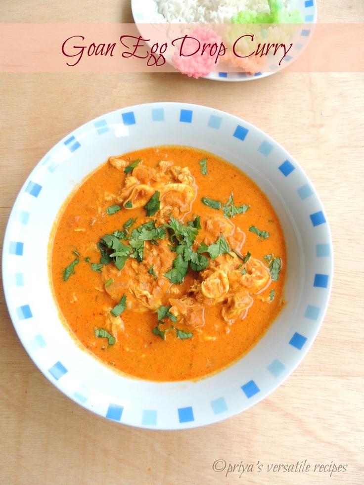 95 best goan fare images on pinterest goan recipes goan food priyas versatile recipes goan egg drop curry forumfinder Images