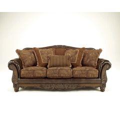 Fresco Durablend Antique Bonded Leather Sofa, Ashley, Fresco Collection