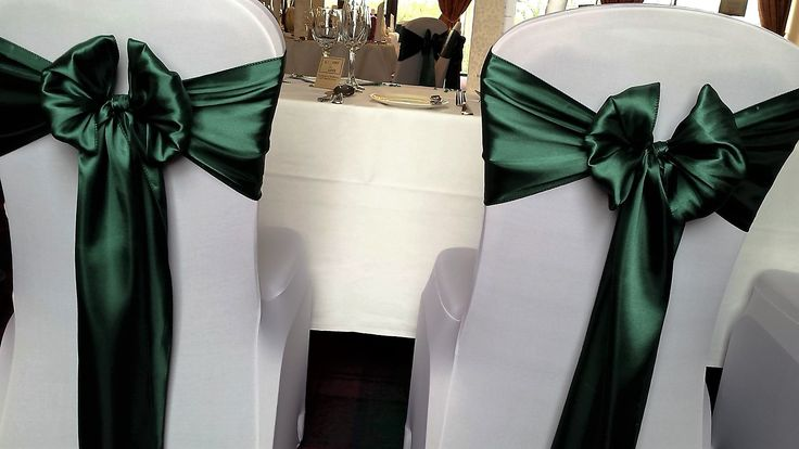 1000+ Ideas About Wedding Chair Sashes On Pinterest