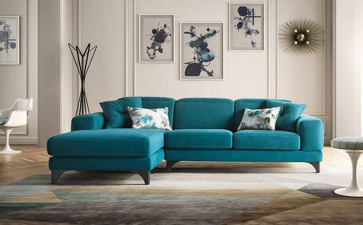 HARVEY Divano componibile con penisola e recliner. #LaCasaModerna #Design #Sofas ● lacasamoderna.com
