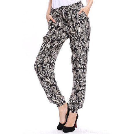 CKM printed pants. Ultimate flexibility and comfort.