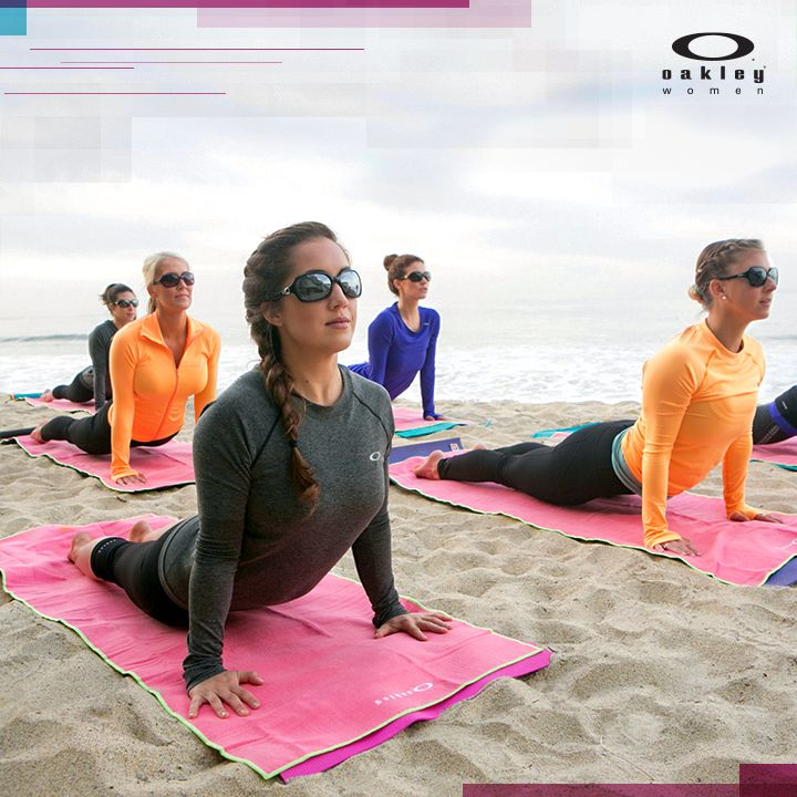 Open your chest. Calm the mind. Relax the body. National Yoga Month.