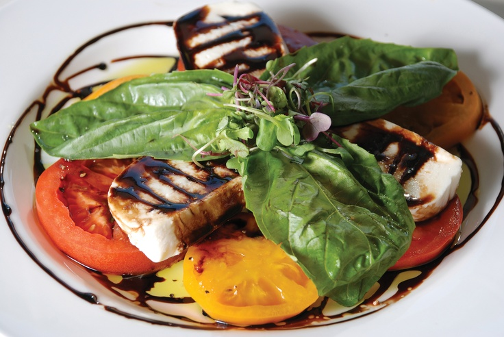 A delicious appetizer from La Jolla Groves. #utahvalleymagazine #lajollagroves #food #appetizers