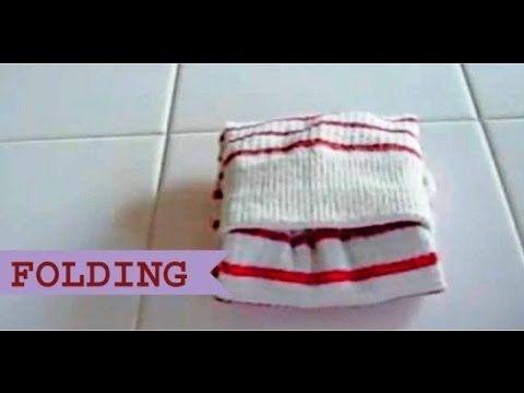 靴下のたたみ方 How to Fold Socks - YouTube