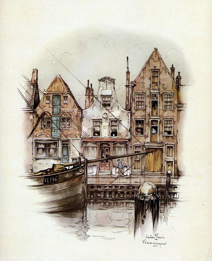 Vlaardingen is a city in South Holland in the Netherlands, ANTON PIECK