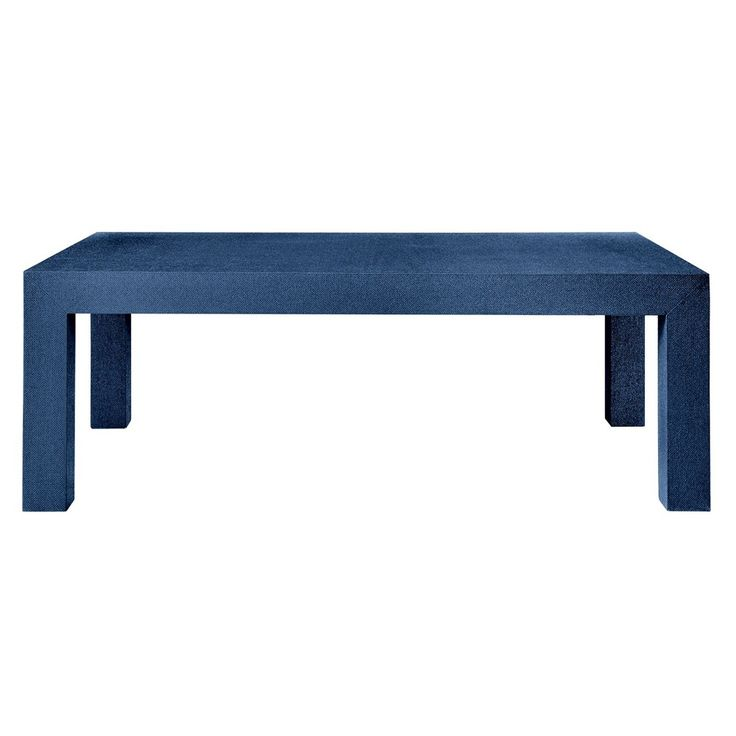 Crafted In Textured Grasscloth In The Classic Parsons Shape, This Design  Combines Architectural Structure And. Cocktail TablesSide ...