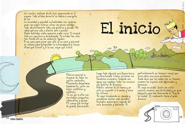 Libro Noticias Mi Ciudad by Lyda Estrada, via Behance
