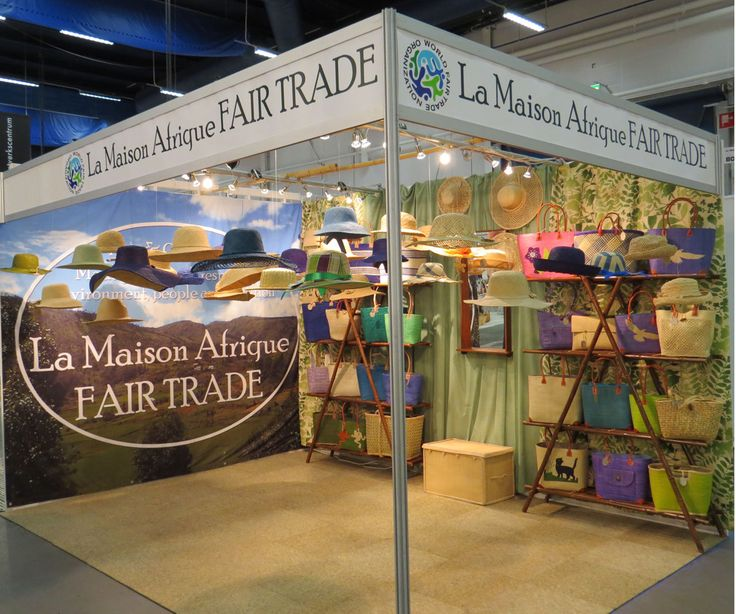 #Formex 2015  #Fairtrade and #ecological hats and bags.