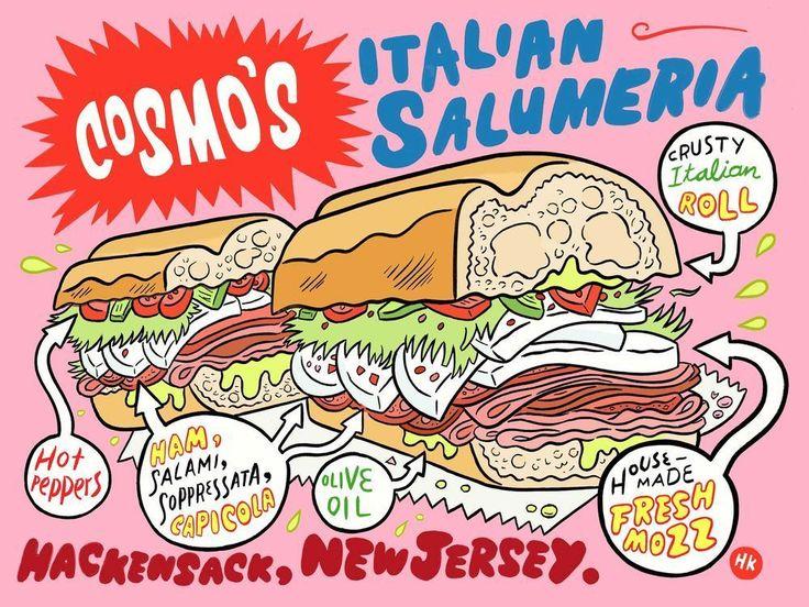 Cosmo's Italian Salumeria Sandwich -- Oh, the sandwiches. Alllll the sandwiches. (Hackensack)