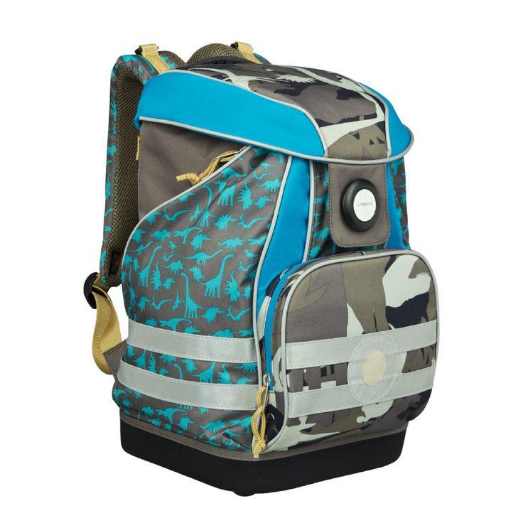 Lässig 4Kids School Bag Dino slate #Schulranzen #Ranzen #Schulanfang #Einschulung #Dino