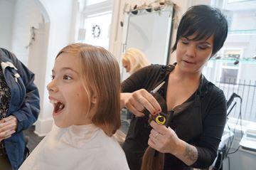 A haircut to help | Huntsville Forester | December 2, 2014 #AngelHairforKids #donate #hair