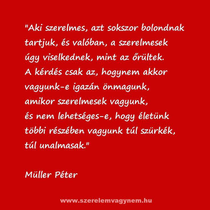 Müller Péter idézet