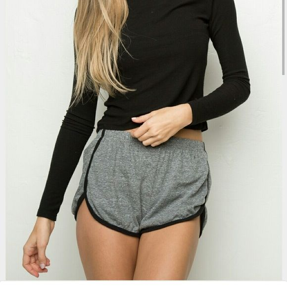 Genuine Brandy Melville Lisette Shorts ????? Brandy Melville work out Lisette shorts. As seen on Kylie Jenner. Genuine. 1 size fits all but small and xsmall best. Make an offer. Worn very gently, very few times. Brandy Melville Shorts Boot Cut & Flare