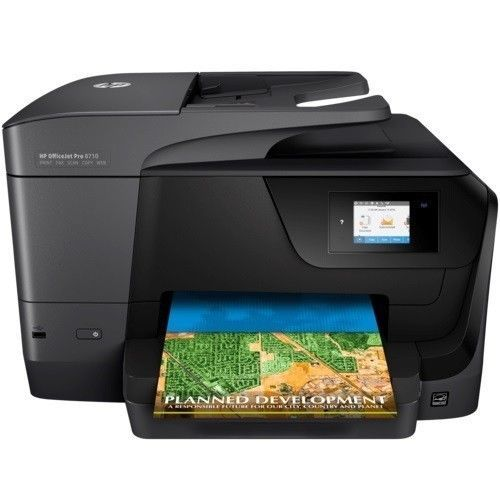 HP OfficeJet Pro 8710 All-in-One Printer 2-sided Color