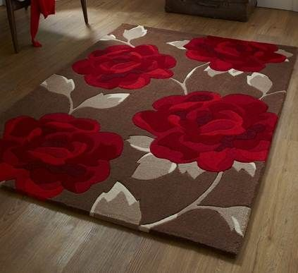 TR Hong Kong HK 793 Brown Red Rug By Think Rugs May Show Price At Top For  Smallest Size And Variations If Any Will Change Prices As Per Size You  Choose.