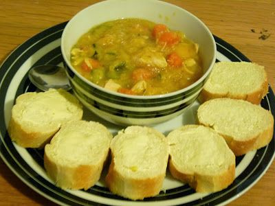 A wholesome chunky chicken and vegetable soup!  Lovely on winter days Winter Family Fun #shop