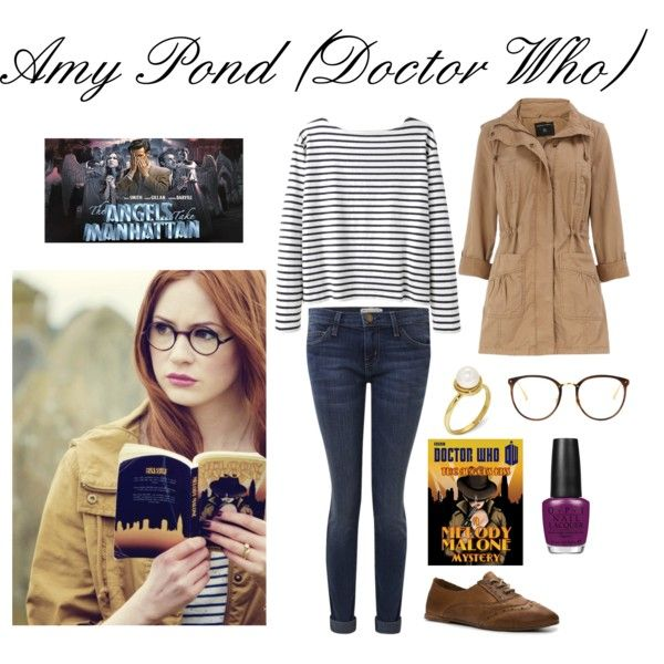 """Amy Pond from Doctor Who"" by rarebrit on Polyvore"