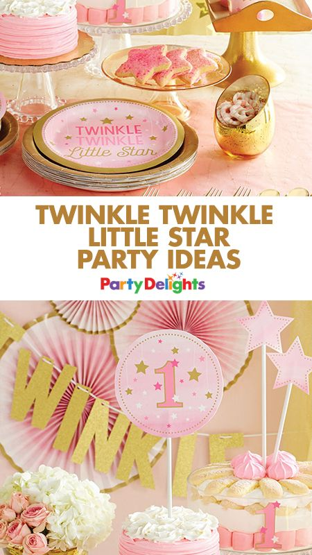 Throw a beautiful 1st birthday party with our Twinkle Twinkle Little Star party ideas! Read on for 1st birthday party decorations, party food ideas and more.