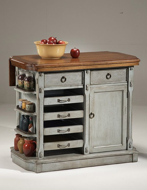 Portable Kitchen Island On Wheels Floating In E Carts Islands Sheila Zeller Pinterest Country