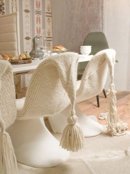 modern knits for interior.