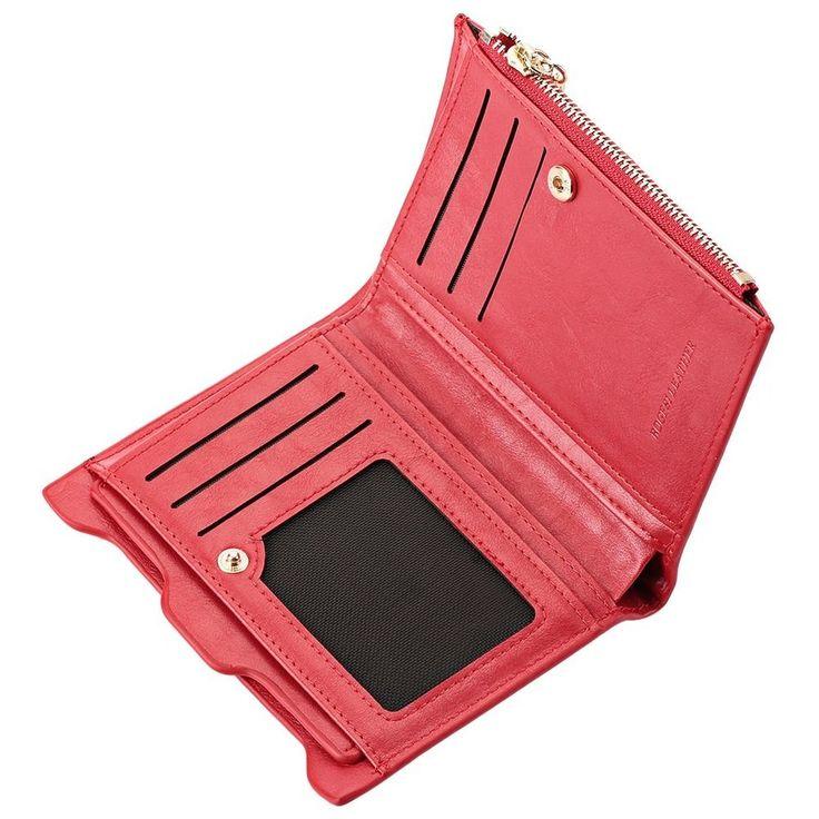 Aliexpress.com: Koupit HOT Small Designer Slim Women Red Wallet tenký Zipper dámské PU kůže Mince peněženky Dámské Peněženka mini spojka Levné Dámské Peněženky ze spolehlivých dodavatelů peněženky pu na CE Technology CO., LTD
