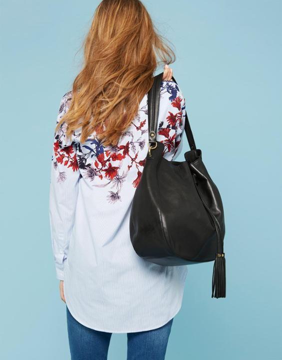 Joules Beau Women's Leather Shoulder Bag