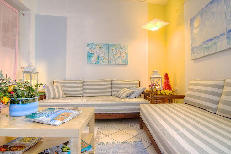 diktamos.gr Diktamos Villas, Rethymno, Crete, Greece #diktamos #ammos #mitos #notos #villa #rethymno #crete #greece #vacation_rental #holidays #private #luxurious_accommodation #summer_in_crete #visit_greece #livingroom_notos