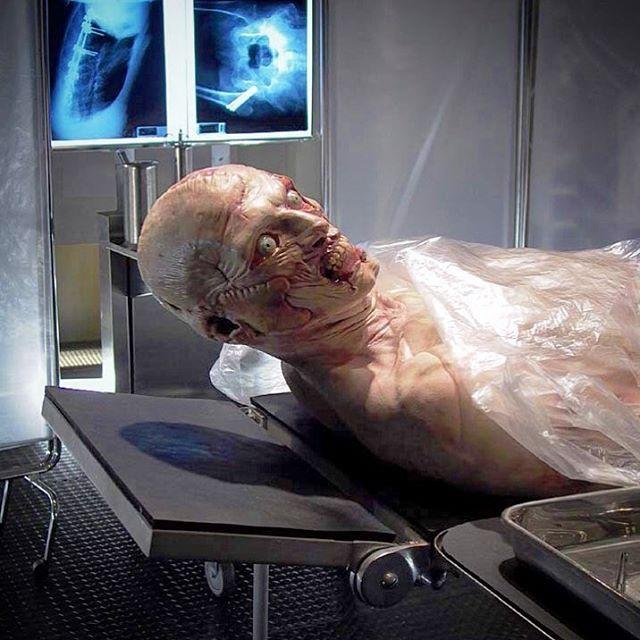 #mulpix Ladislav Beran as Kroenen in full face and body prosthetics. HELLBOY 2003. #ladislavberan #hellboy #kroenen #karlruprechtkroenen #ddtcrew #sculpture #panslabyrinth #makeup #specialmakeup #makeupeffects #work #professional #art #artwork #ilovemyjob #insta #instamood #instagood #instadaily #picoftheday #guillermodeltoro #gdt #prosthetics #movies #foamlatex