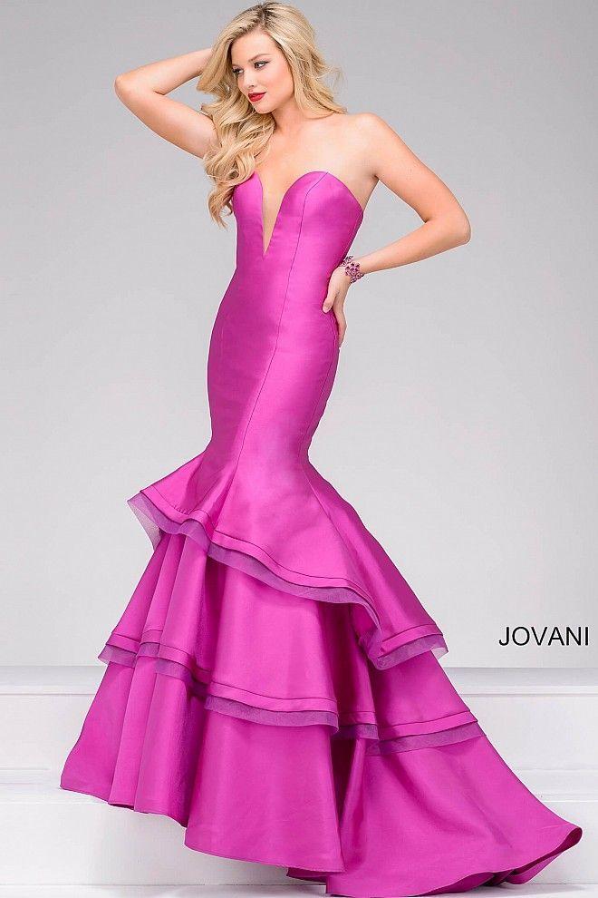 Mejores 180 imágenes de Jovani en Pinterest | Vestidos formales ...