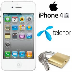 telenor låsa upp iphone