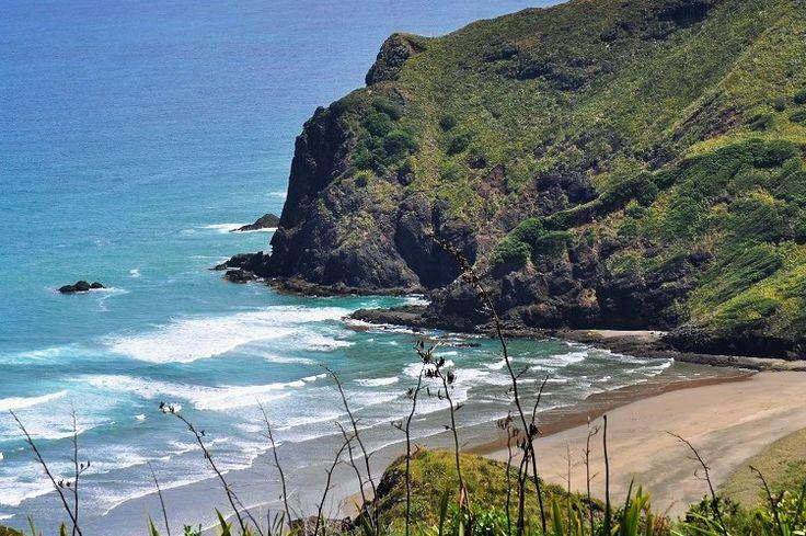 Anawhata Beach, Waitakere Ranges, Auckland New Zealand