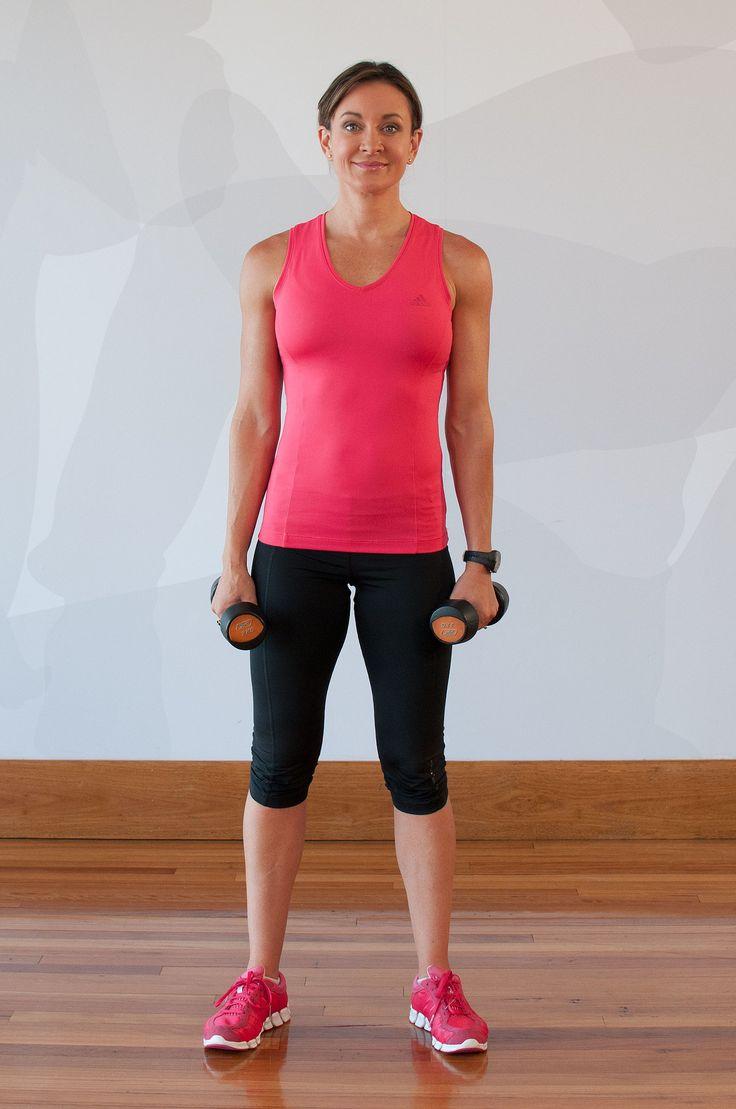 Michelle Bridges' Fat-Blasting 5 Minute Workout