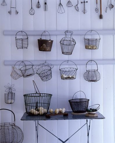 Cute Wires.......Hung Baskets